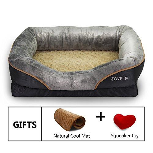 Joyelf Large Memory Foam Dog Bed Orthopedic Dog Bed